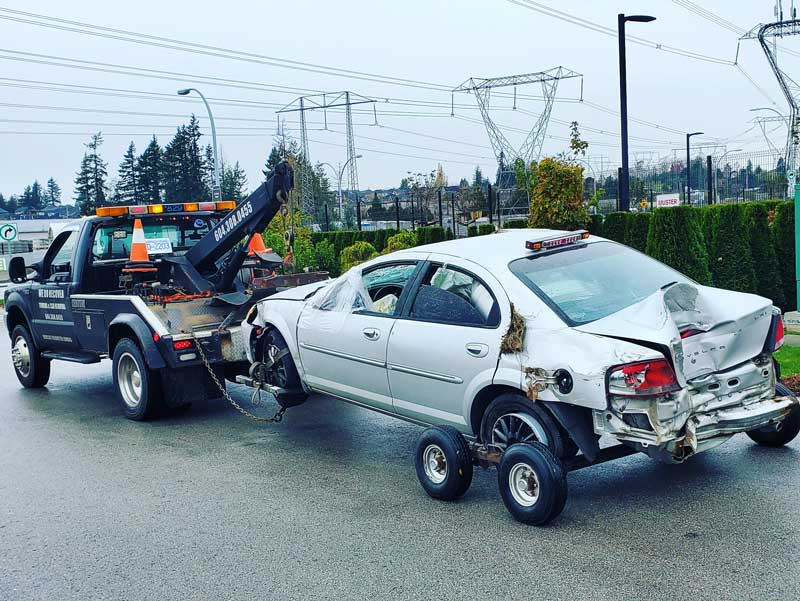 if you need towing service in Langley, please contact us for emergency service