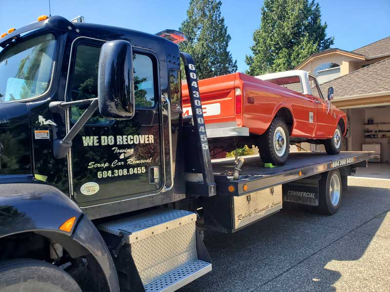 our scrap car removal service will pick up your car at your location