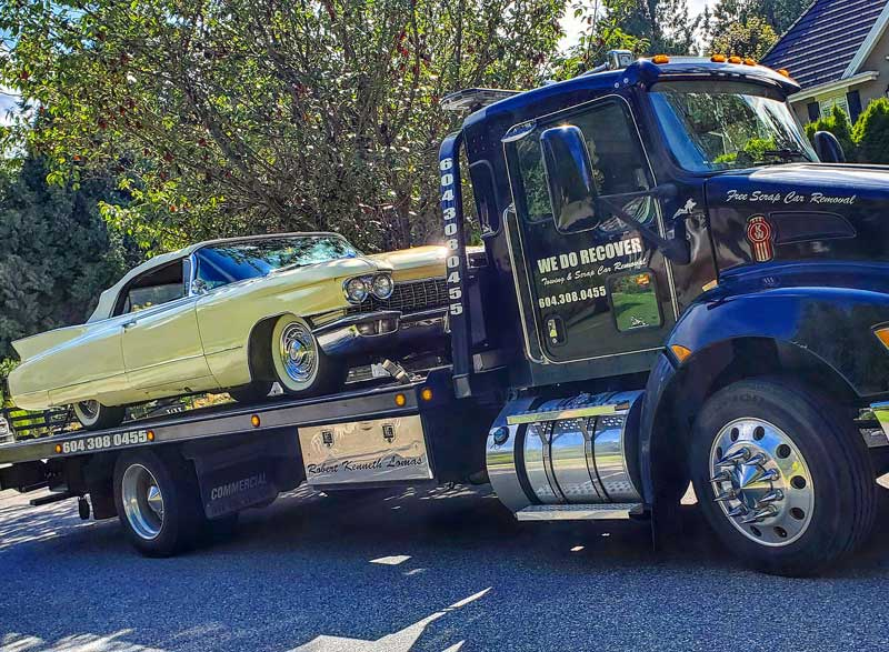 Towing service in available in Lower mainland