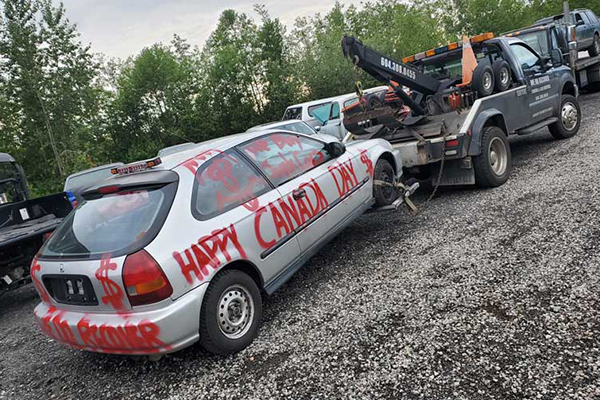 we scrap any car for cash in Langley